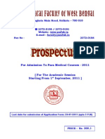Prospectus 2011 Para Medical Course