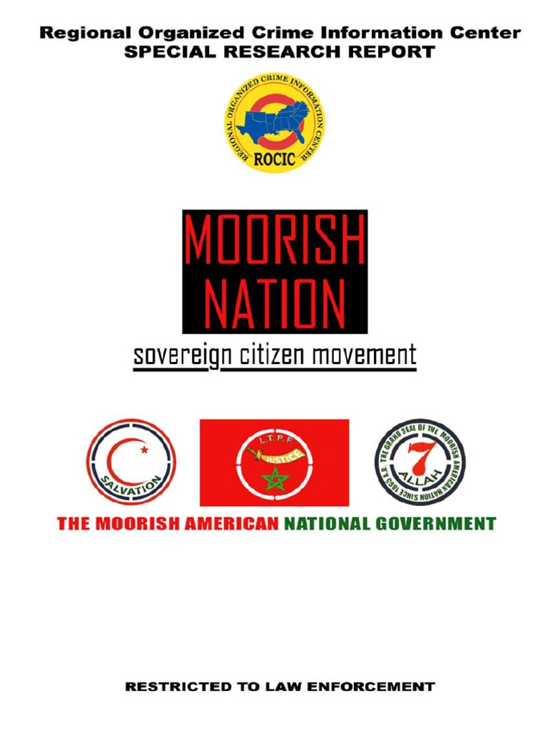 ROCIC Moorish Nation | Identity Document | Gang