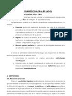 Comisión Endocrino-Tto DM II:Antidiabéticos Orales, Insulinas y Otros Fcos(26!11!07)Soriano