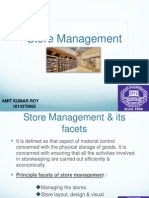 Store Management in supply chain management