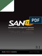 SANmp 3.1 Admin Guide