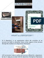 What is a Depository (3)