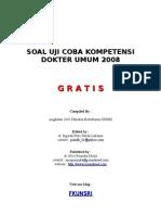 Soal Kompetensi 2008
