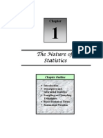 Chapter1-Nature of Statistics