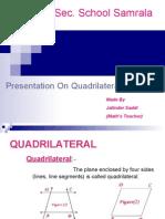 Quadrilaterals b Ludhiana