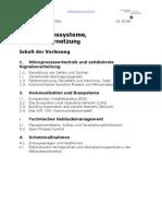 Infosysteme Mitschrift