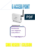 SETTING ACCESS POINT (AP)