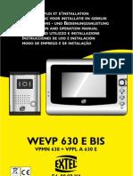 Citofono Extel Wevp630ebis-7l