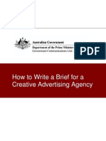 345541 How to Write a Brief for a Creative Advertising Agency
