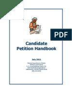FL 2011 Candidate Petition Handbook