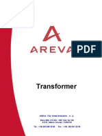 AREVA the Testing of Transformer