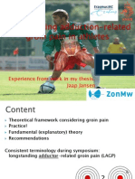 2011 Longstanding Adduction-related Groin Pain in Athletes Jaap Jansen