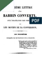 Hebreos Católicos - Paul Drach - 2da carta de un rabino convertido a los hijos de Israel, sus hermanos, sobre los motivos de su conversión