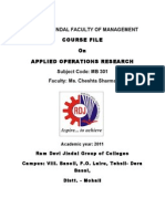 Ppm Course File