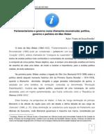 Weber - Burocratas, Políticos, Democratização, Parlamentarização