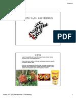 Lipid Dan Deterjen