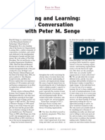 Living and Learning With Peter Senge