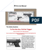 Firearms - ! - Manual - Walther P99 Pistol