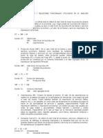 PRINCIPALES VARIABLES Y RELACIONES FUNCIONALES UTILIZADOS EN EL ANÁLISIS  MACROECONÓMICO