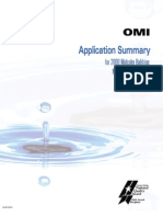 OMI Application Summary