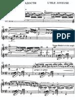 Debussy - L´isle Joyeuse