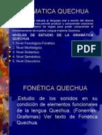 GRAMATICA QUECHUA