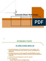 Design Shear Wall