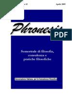 Phronesis 12 VII 09