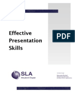 Effective Presentation Skills - Kmetyk