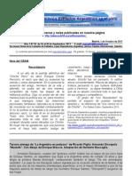 Boletin Nº 10 de la Comisión Exiliados Argentinos en Madrid