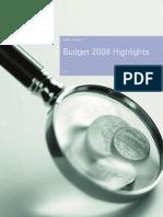 KPMG Budget Highlights
