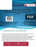Sip Project in Axis Bank