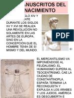 Los Manuscritos Del Renacimiento
