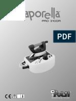 Vaporella Manual Instrucciones