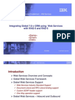 Integrating Siebel Web Services Aug2006