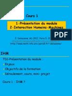 C1-IHM P5 IPCC