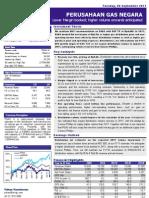 Company Update PGAS 2011 09 06