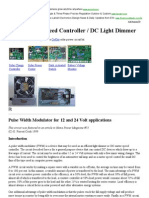 Motor Control With PWM
