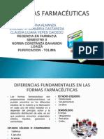 DIAPOSITIVAS FORMAS FARMACÉUTICAS 2