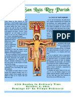 Mission San Luis Rey Parish Bulletin for 10/02/2011
