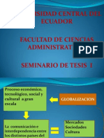 Universida Central Seminario de Tesis 1