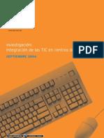n Integración de Las TIC en Centro de ESO - 2004