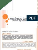 América Latina durante la Guerra Fría.