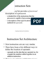 Instruction Set Arch