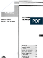 240Z Automatic Transmission Manual