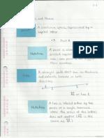 Geometry Interactive Notebook 1-1