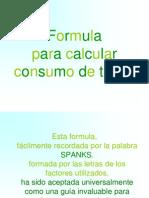 Formula Para Calcular Consumo de Tintas