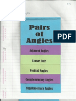 Geometry Interactive Notebook 1-4