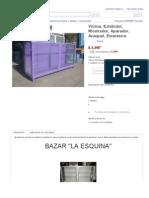 Vitrina, or or Aparador, Anaquel, Estanteria - $ 2,390