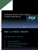 Presentation 1(History of PH)
